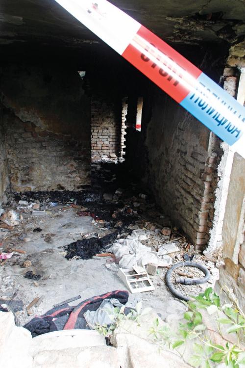 Narkoman se sam zapalio u napuštenoj kući u Borči