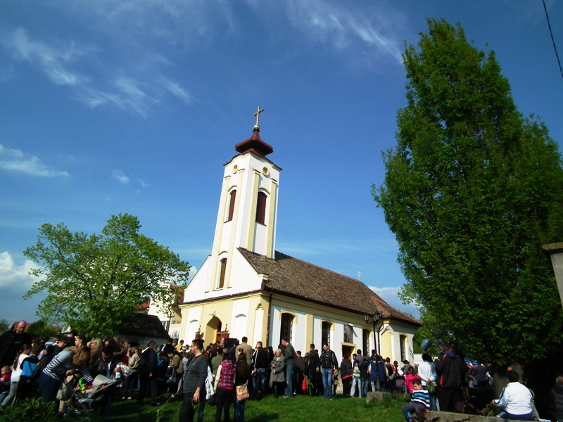 Vrbica i ove godine obeležena u crkvi u Borči - 2014 class=