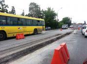 Velika gužva na ulasku u Borču kod raskrsnice Putnik 2014
