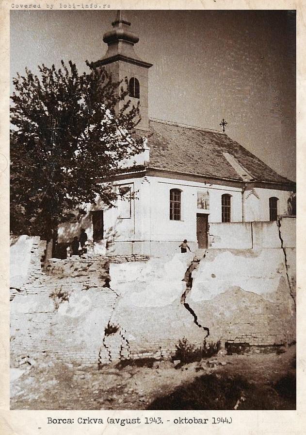 Istorija Hrama Svetog Oca Nikolaja u Borči