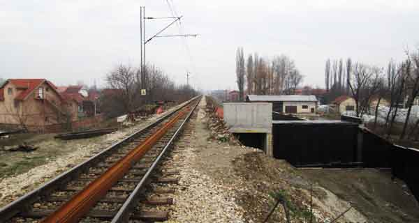 Trenutna situacija na radovima železnice Beograd-Pančevo stanice Krnjača i Ovča
