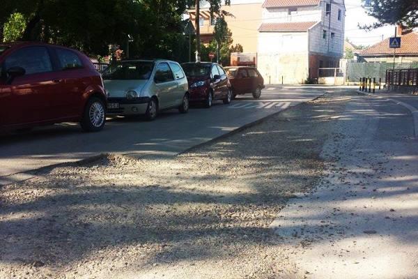 Kada će biti sređena raskrsnica u Ranka Miljića i ulice oko škole Rade Drainac - 2015