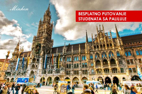 Studenti posetite Minhen, Amsterdam, Plzen i Prag i to besplatno!-2015