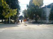Asfaltirana raskrsnica u Ranka Miljića i ulice oko škole u Borči (FOTO) - 2015