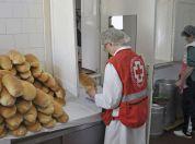 Besplatna hrana u narodnoj kuhinji u Borči