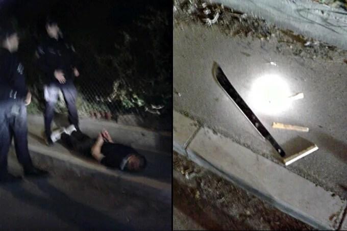 u borči napadnut taksista