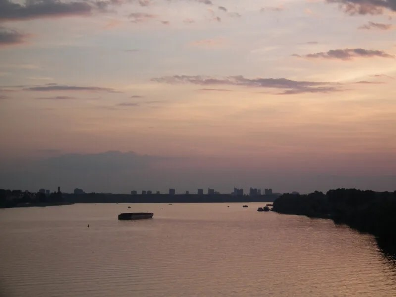 Dunav - Beograd -Izlozba dece Palilule