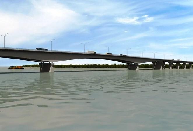 Napreduje Kineski most
