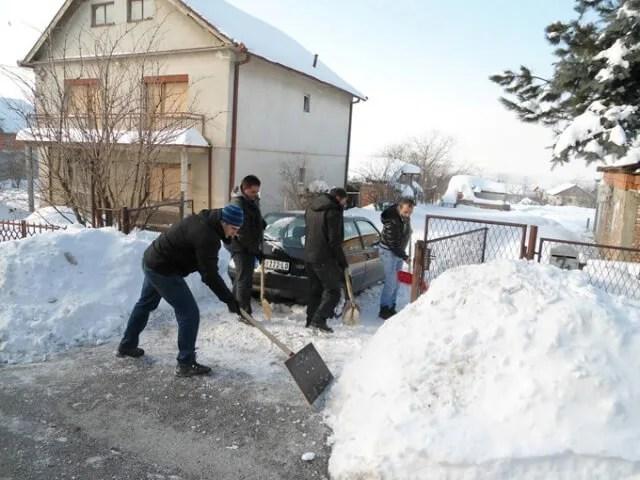 Nečišćenje snega koštaće nas minimum 5.000 dinara - 25.01.2014.