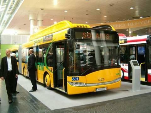 """""""Solaris"""" autobusi opet raspoređeni na pojedinim linijam leve obale"""