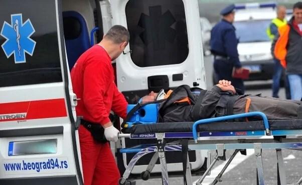 Povređen pešak na Zrenjaninskom putu kod skretanja za Borču - 10.12.2013