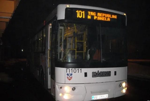 Napadači oteli autobus na liniji 101