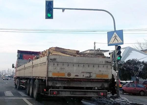 Semafori leteli Zrenjaninskim putem - 01.02.2014