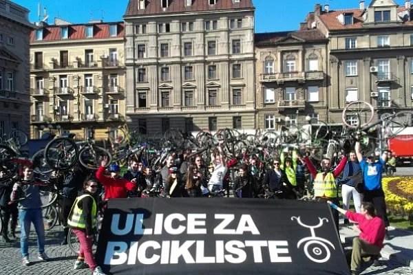 Biciklisti Beograda održali izbornu vožnju - 03.03.2014.