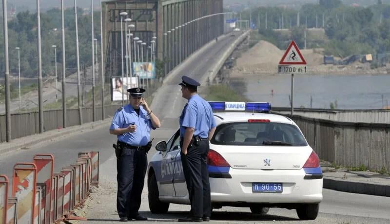lažna dojava za bombu na pančevačkom mostu