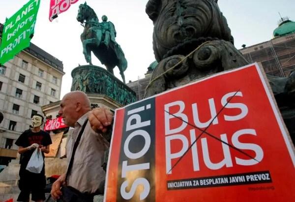 Beograđani pobedili, nema više Bus Plusa