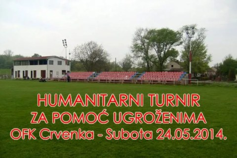 Humanitarni turnir u Crvenki za pomoć ugroženima - 2014