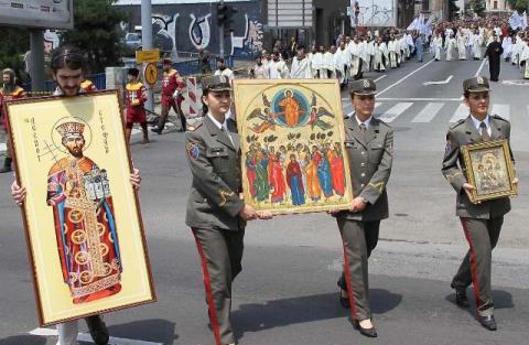 Beograd slavi Spasovdan