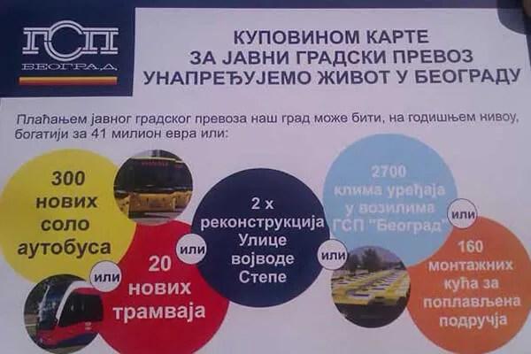 Za bolji prevoz i život u Beogradu - GSP Beograd