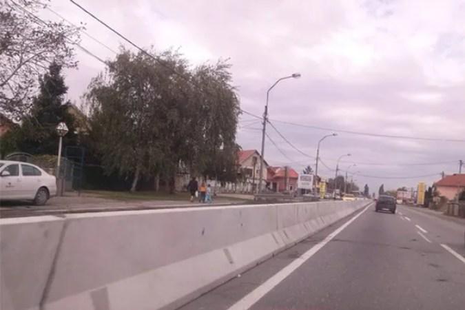 Betonska barijera Zrenjaninski put, LOBI