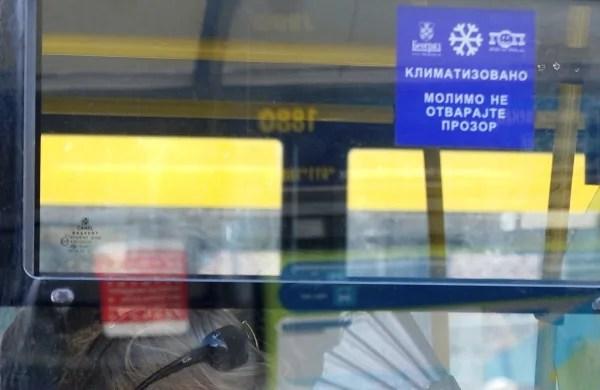 Klima u starim autobusima GSP-a ne radi zbog mogućih požara-2015