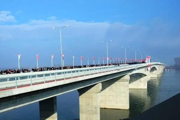 Pre tačno godinu dana otvoren je Pupinov most - 2015