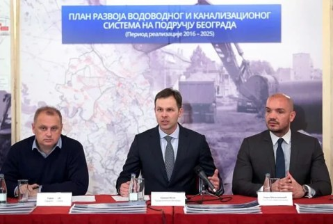 Kanalizacija u narednih 10 godina: Najviše sredstava dobija Palilula - 2015 - 2025