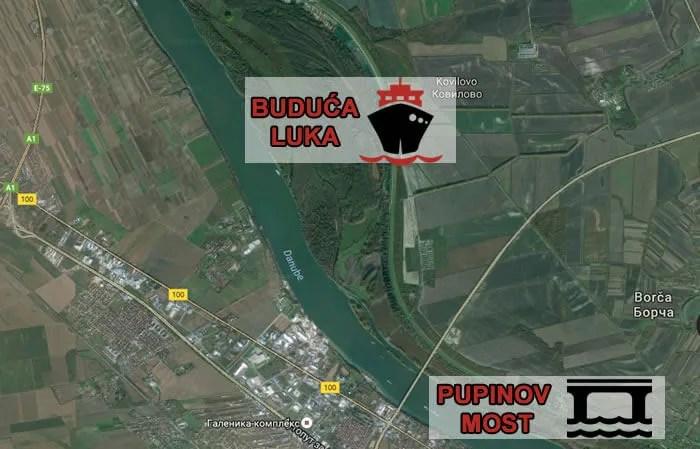 Nova Luka Beograd, LOBI