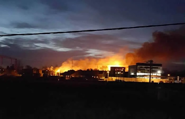 Požar u Krnjači, LOBI