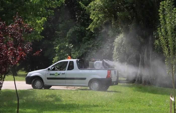Zaprašivanje komaraca sa zemlje, LOBI