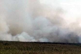 požar na Velikom blatu