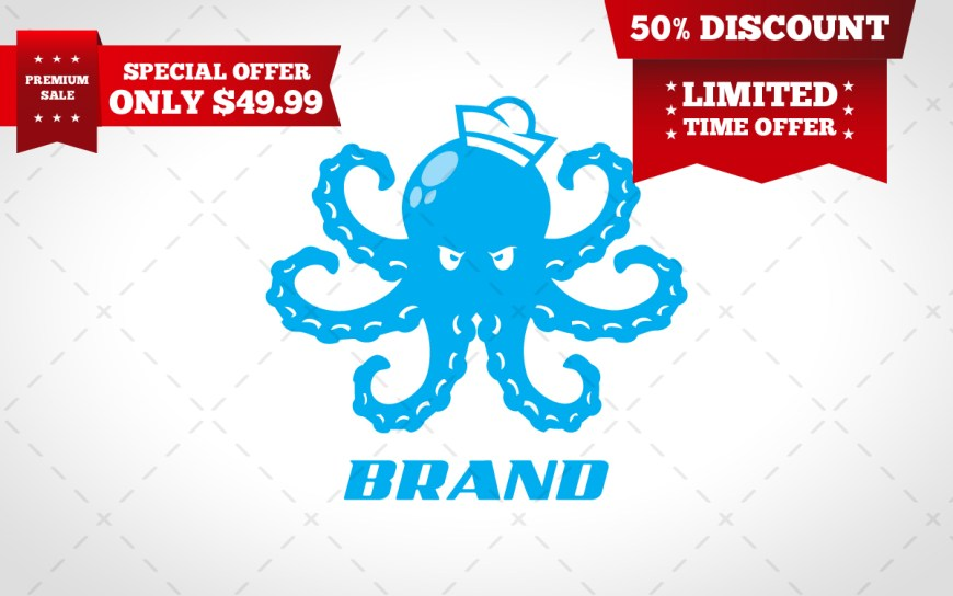 octopus logo for sale