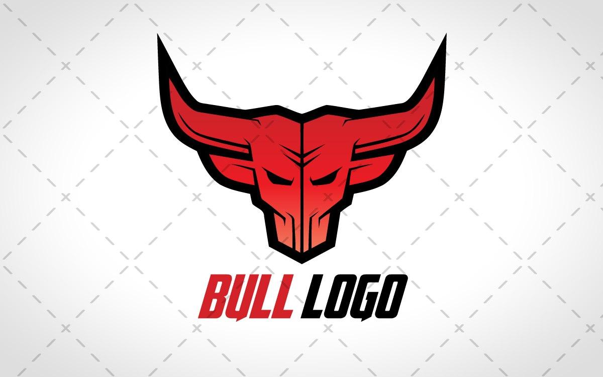 bull head logo for
