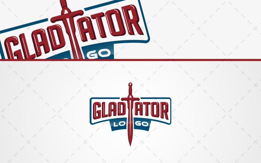 gladiator sword logo for sale