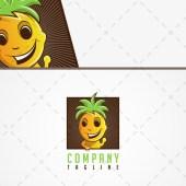 Premade Pineapple Logo | Pineapple Boy Logo For Sale