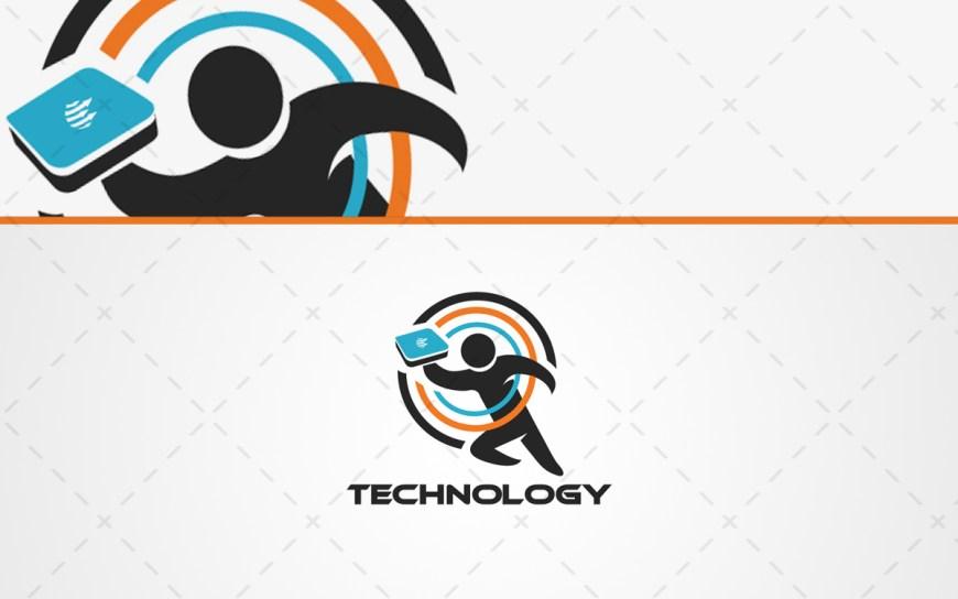 Technology Logo For Sale