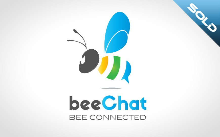bee chat logo for sale