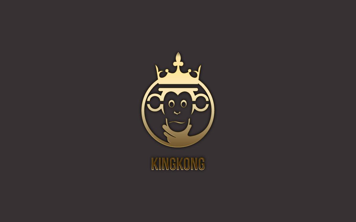 Royal King Monkey Logo For Sale  Lobotz
