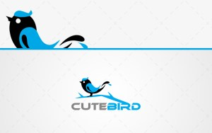 cute bird logo for sale