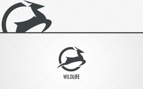 Magnificent Deer Logo For Sale Lobotz