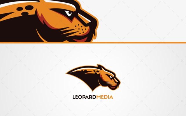 Leopard Mascot Logo For Sale