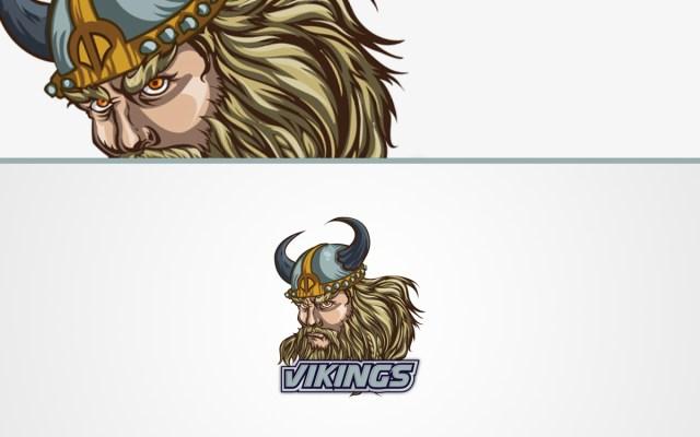 vikings logo for sale