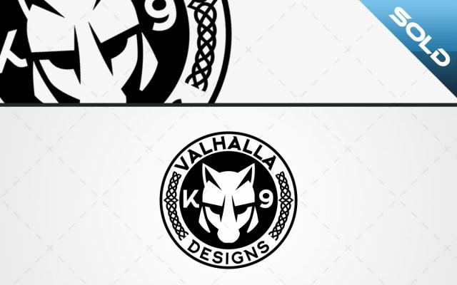 Valhalla K9 Designs Logo