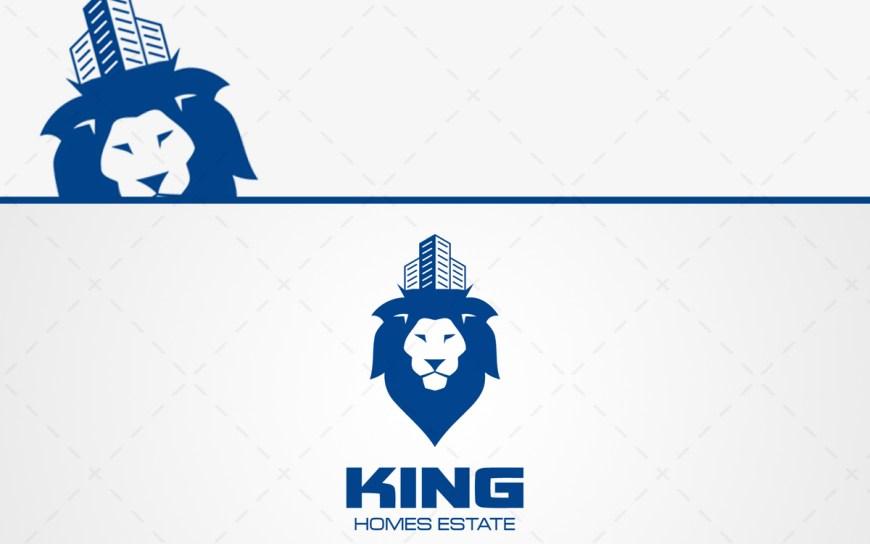 King Real Estate Logo For Sale