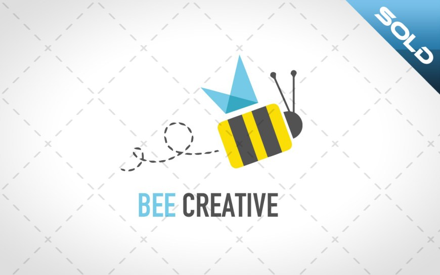 bee logo for sale