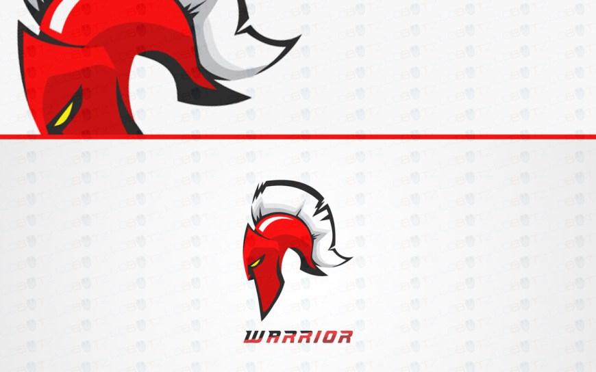 spartan head logo for sale