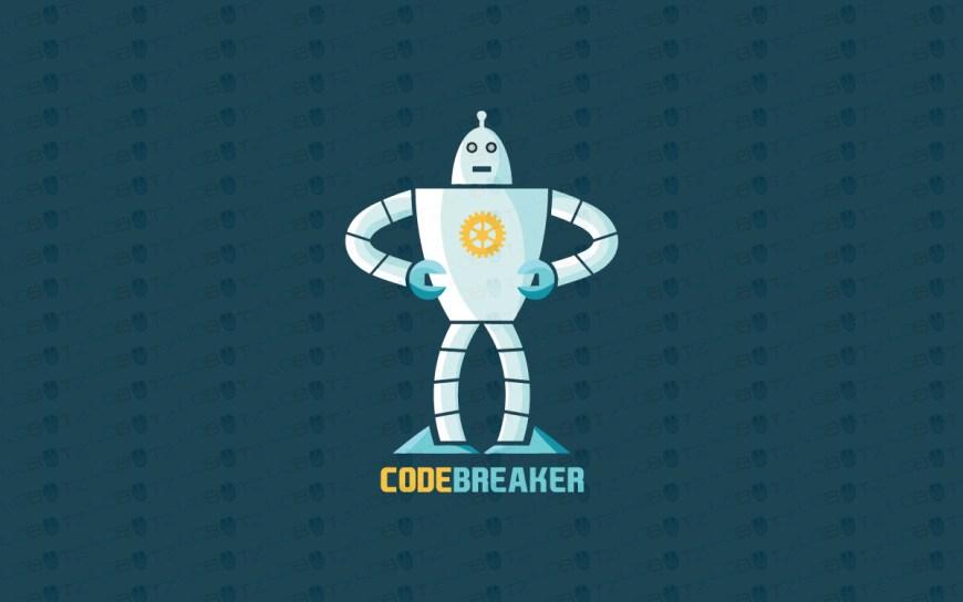 robot logo for sale