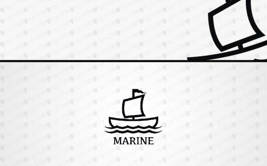 marine boat logo for sale
