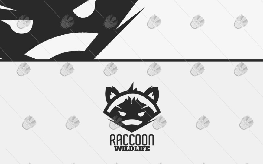 raccoon logo for sale