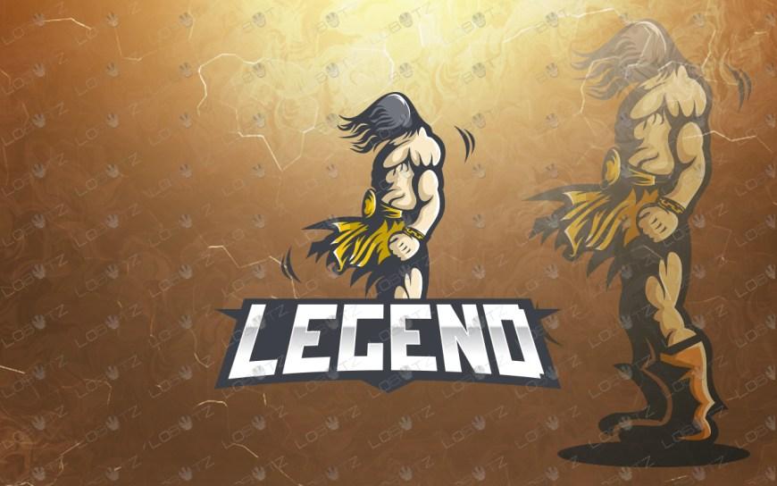 warrior mascot logo warrior esports logo